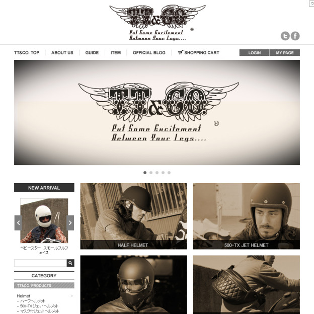 TT&COMPANY – Motorcycle Custom and Sales|TT&CO.オンラインショップ